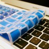 Cool Blue Keyboard Cover - KeyCuts Keyboard Covers for Mac Excel