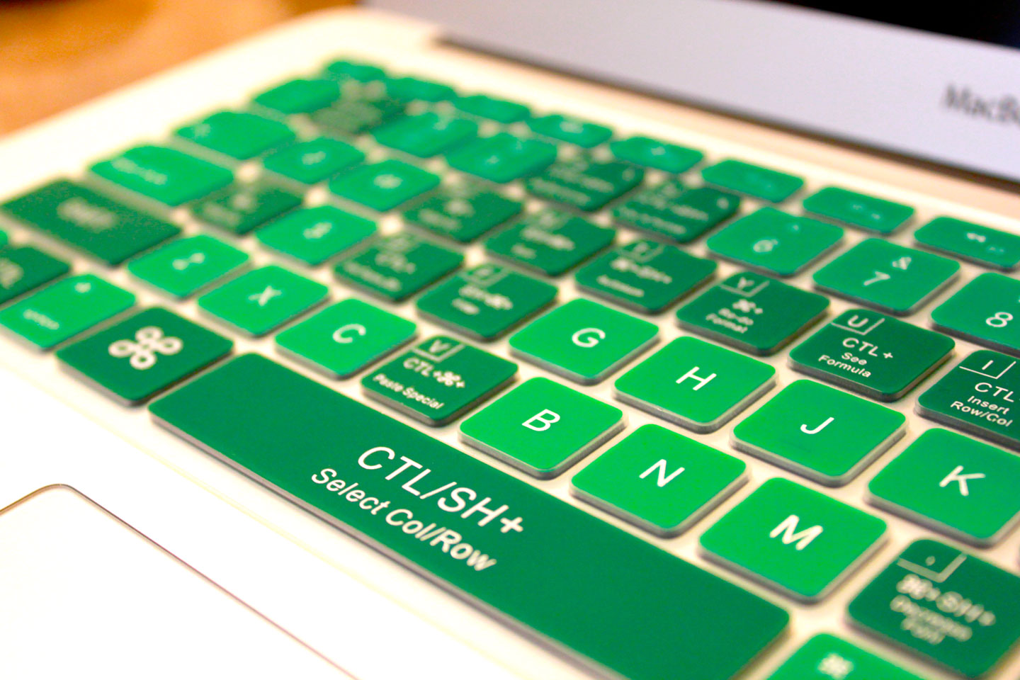 Emerald Green Cover for Mac Excel