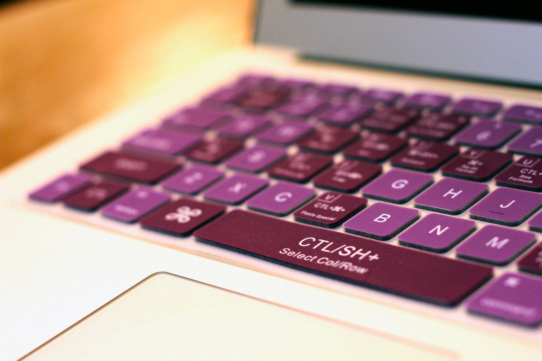 7e7b40151437 Grape Drink Purple Keyboard Cover - KeyCuts Keyboard Covers for Mac Excel