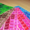 Rainbow Road Pack - KeyCuts Keyboard Covers for Mac Excel